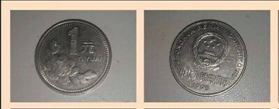Foreign coins - Yi Yuan from China