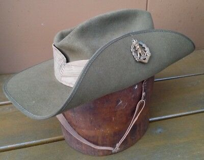 Vietnam War RAR Slouch Hat 1969