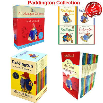 Paddington Bear Classic Books set Michael Bond 13 Collection Adventures pack NEW