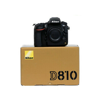 Nikon D810 Digital SLR Camera Body Only with 2 Year Warranty - Free UK Delivery