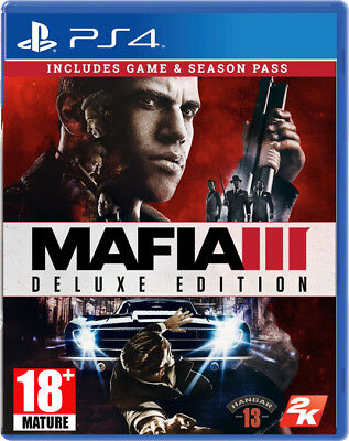 Mafia III / 3 Deluxe Edition - PlayStation 4 PS4 ~18+ Brand New & Sealed!!