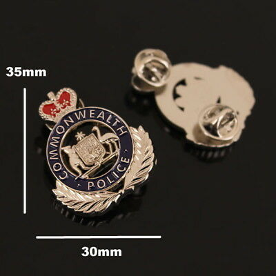 Commonwealth Police Badge Style Pin (social)