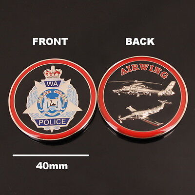 Western Australia Police Airwing Challenge Coin (social)