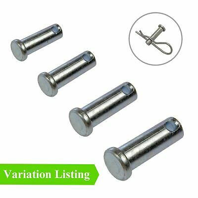 Clevis Pins Imperial Securing Fasteners for Retaining R Clips and Split Pins