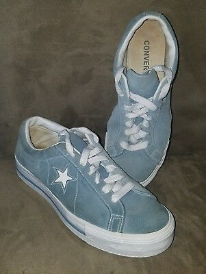 Vintage 1990s Converse One Star Suede blue womens size 10