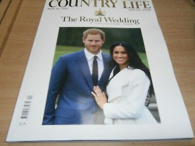 Country Life magazine MAY 16th 2018 The Royal Wedding Collector's Special Issue