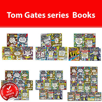 Tom Gates series Books Set Liz Pichon Collection 13 Childrens Stories humour NEW