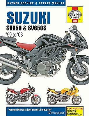 Suzuki sv650 sv650s motorcycle repair manual 1886 picclick uk suzuki sv650 sv650s 9781785210419 fandeluxe Choice Image