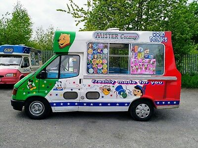 Ford Transit Ice Cream Van With Original Cummins Body **ONE OWNER FROM NEW**