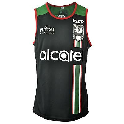 ISC South Sydney Rabbitohs 2018 Training Singlet - Black, Green and Red