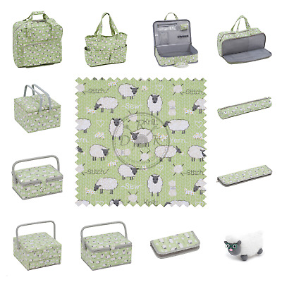 Sheep Design by HobbyGift - Knitting Bags, Craft Bags, Sewing Baskets, and more