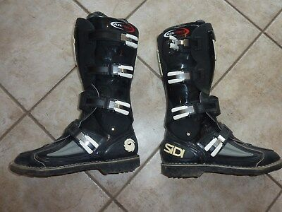SIDI acs System Patented Flex Force Gr. 45 Stiefel Motorradstiefel Cross Stiefel