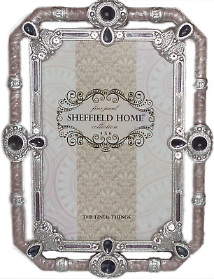 Sheffield Home Jewel Collection 4x6 Picture Frame Snowflake