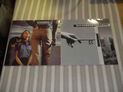 """SCORPIONS: Crazy World/ Animal Magnetism, NICE LOT WITH 2 LP`S/ 12"""", MINT :-))"""