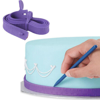 Nice Cake Measuring Tape Cake Border Dividing Ruler Tools Baking Mold Silicone