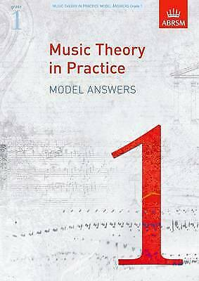 Music Theory in Practice Model Answers, Grade 1 - 9781848491144