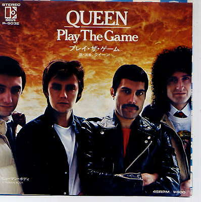 QUEEN -  Play the game - 7'' (45 tours) - Japan