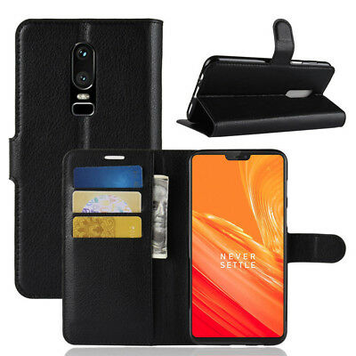 Flip Leather Wallet stand card Magnetic Case Cover Pouch For Oneplus 6T 6 3T 7pr