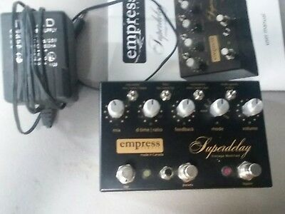 Empress Effects Superdelay Vintage Modified Guitar Effect Pedal