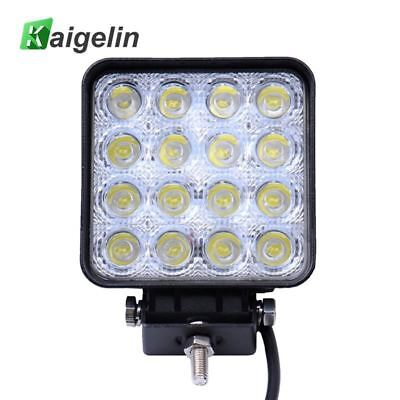 1 PCS/LOT 48W Spotlight 16 X 3W Car LED Work Light Bar Drive Lamp Spot Light For