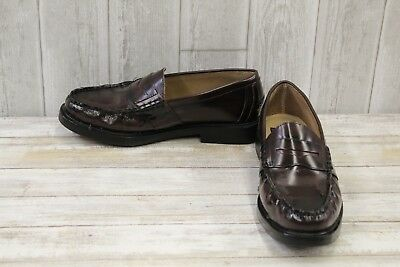 fb34106918d NUNN BUSH LINCOLN Leather Penny Loafers
