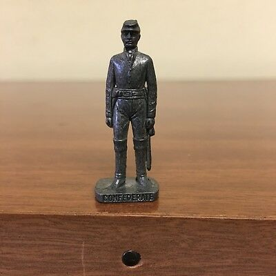 Soldatini Kinder Metallfiguren Confederate