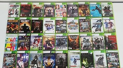 Xbox 360 Bundle / GTA Call of Duty Fifa Black Ops Grand Theft Auto / Select #C1