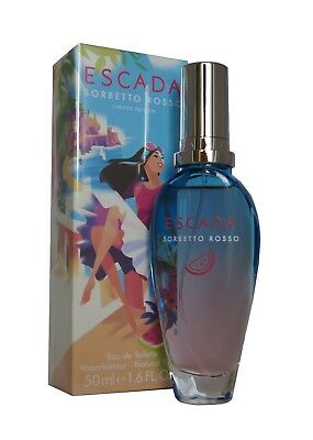 ESCADA SORBETTO ROSSO Eau de Toilette EDT 50ml.