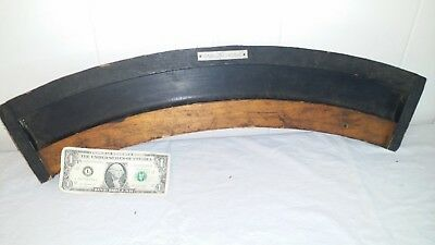 """24 1 /2"""" Vtg Steampunk Arch Wood Foundry Industrial Pattern Mold"""