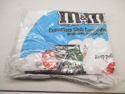 M&M's Candy Character T Shirt~Middletown Pa Conv.~Sealed in Bag~2004~NWOT~  XL