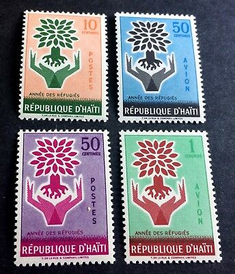 Haiti 4 wonderful old mint stamps **