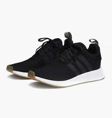63153a92c2aed ADIDAS ORIGINALS MEN S NMD R2 Shoes NEW AUTHENTIC Black Steel BY9917 ...