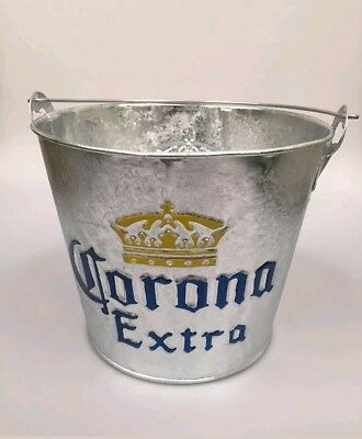 3 x CORONA ICE BUCKET BOTTLE OPENER PARTY BAR GIFT BEER MEXICAN PLANTER TRAY