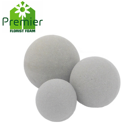 Dry Floral Foam Spheres / Balls - From 9 to 30 cm / Choose your size + Amount