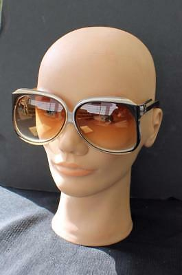5cda895226610 Auth Vtg 70s Balenciaga Oversized Butterfly Sunglasses 7965 Paris France  w pouch