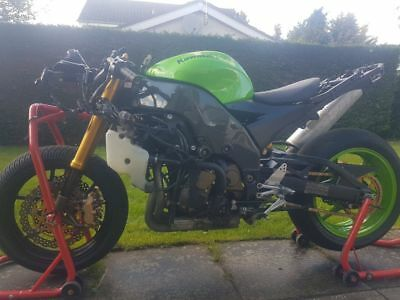Kawasaki ZX10r race/track/road bike project