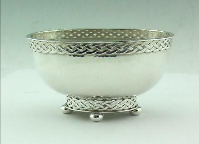 Arts & Crafts Solid Silver Bowl  A.e.jones 1930