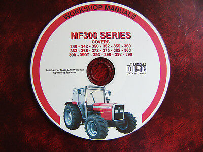 Massey Ferguson Mf355 365 383 393 396 398 399 Workshop Service Repair Manual