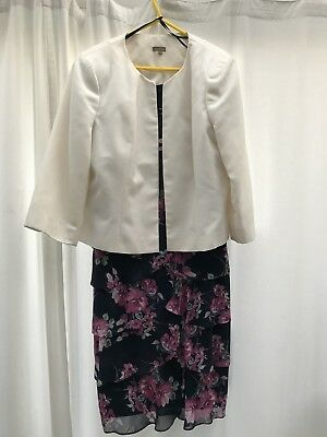 Mother Of The Bride/wedding Outfit/evening Dress Size 16