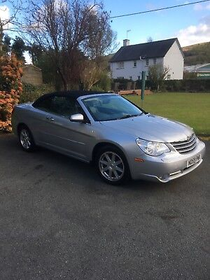 Chrysler sebring 2.7 limited v6 auto very low miles very good condition