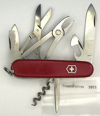 Victorinox Climber Deluxe Swiss Army knife- used, vintage, very good #5971
