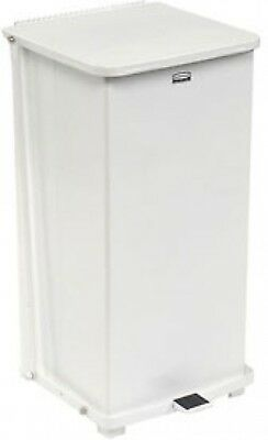 Rubbermaid ST24ERB Defenders Fire Safe Step On Metal Trash Cans, 24 Gallon,
