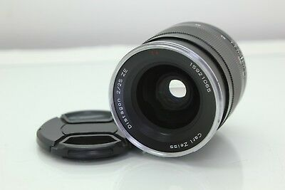 Carl Zeiss Distagon T*  25mm f/2 Lens ZE Lens For Canon EF Excellent Condition