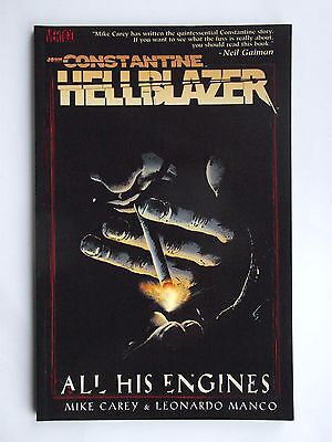 Hellblazer: All His Engines. John Constantine  P/B D C Comics 2006 Mint Con