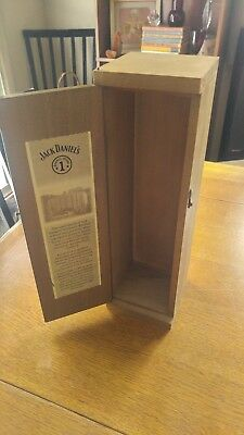 Vintage Jack Daniels Barrel House One Whiskey Bottle Box Limited Collectible