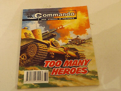 Commando War Comic Number 2590,1992 Issue,v Good For Age,25 Years Old,very Rare.