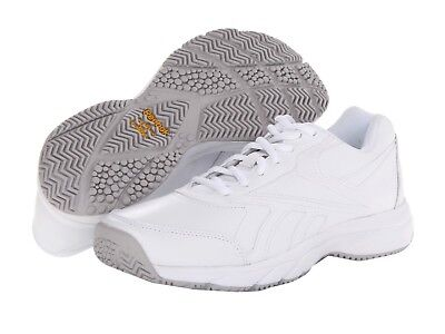 000fac35cf8 Reebok Women s Work N Cushion Shoes Oil Slip-resistant Walking Sneaker 6.5  M New