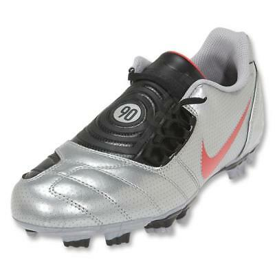 c44249125 Nike Total90 Shoot II Extra FG Soccer Shoes Metallic Silver Red Size 6.5  Boys