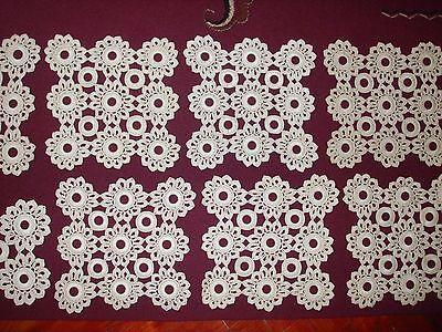 Lot of 13pc  Beautiful NEW Vintage Handmade Lace