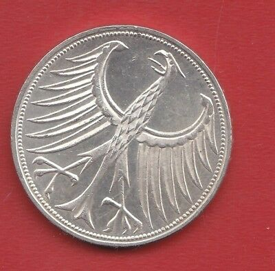 Germany 5 Mark 1972 F Silver